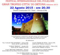 Festival Internazionale del Folklore. Gran Trofeo Città di Ortona Edizione 2015