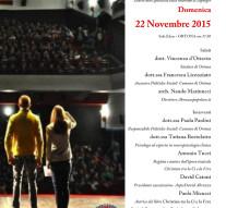 """Presentazione del libro """"Christian tra la Ci e la Erre. Il diario dello spettacolo sulla sindrome di Aperger"""""""