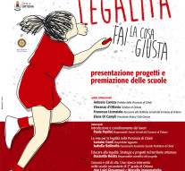 Ennesimo riconoscimento per il progetto dedicato all'educazione alla legalità