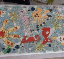 """Al via il Laboratorio di Mosaico: l'Eas n. 28 """"ortonese"""" alla Mostra dell'Artigianato Artistico Abruzzese a Guardiagrele"""