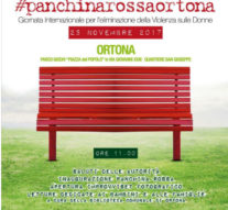 La panchina rossa a Ortona