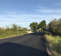 Dopo la segnalazione di Ortona Territorio la Provincia di Chieti sistema la strada provinciale Ripari di Giobbe